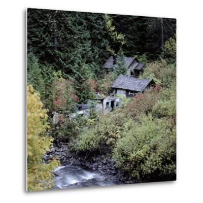 Derelict Houses in Manning Park, British Columbia, Canada