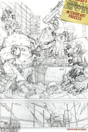 Zombies vs. Robots: Undercity - Bonus Material by Mark Torres