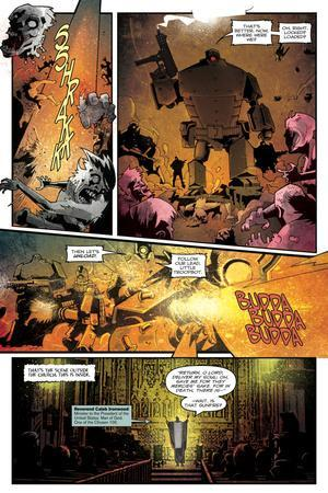 Zombies vs. Robots: Undercity - Comic Page with Panels