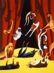 Dog Show by Mark Ulriksen