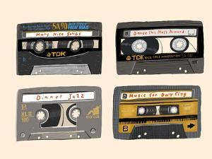 Four Mix Tapes by Mark Ulriksen