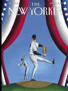 The New Yorker Cover - April 2, 2001 by Mark Ulriksen