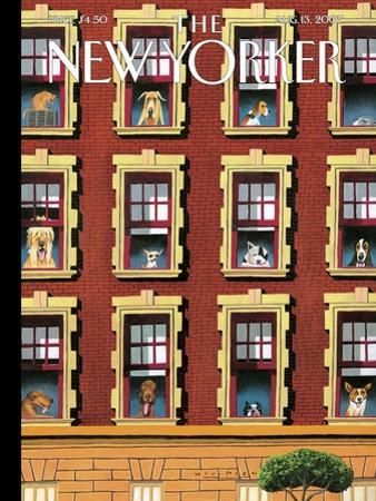 The New Yorker Cover - August 13, 2007 by Mark Ulriksen