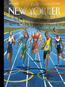 The New Yorker Cover - August 8, 2016 by Mark Ulriksen