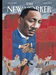 The New Yorker Cover - January 16, 1995 by Mark Ulriksen