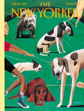 The New Yorker Cover - July 24, 1995 by Mark Ulriksen