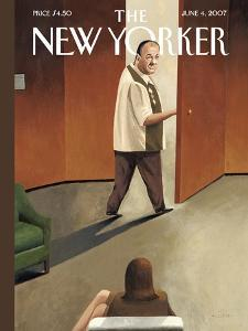 The New Yorker Cover - June 4, 2007 by Mark Ulriksen