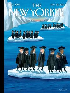 The New Yorker Cover - May 28, 2012 by Mark Ulriksen
