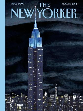 The New Yorker Cover - November 19, 2012