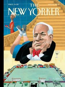The New Yorker Cover - September 8, 2008 by Mark Ulriksen