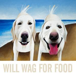 Will Wag For Food by Mark Ulriksen
