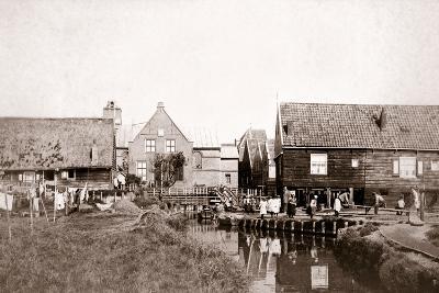 Marken Island, Netherlands, 1898-James Batkin-Photographic Print