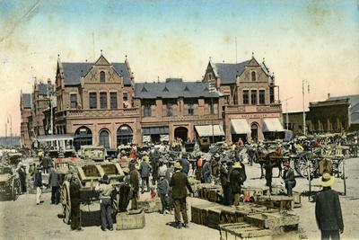 Market Buildings, Johannesburg, Transvaal, South Africa, C1904- Sallo Epstein & Co-Giclee Print