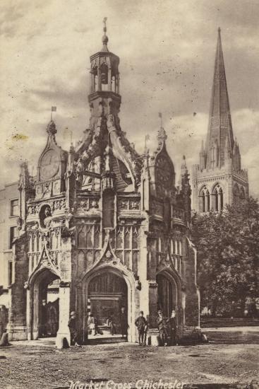 Market Cross, Chichester--Photographic Print