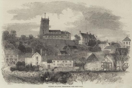Market Drayton, Shropshire--Giclee Print