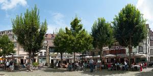 Market Place, Place Du Marche Gayot, Strasbourg, Bas-Rhin, Alsace, France