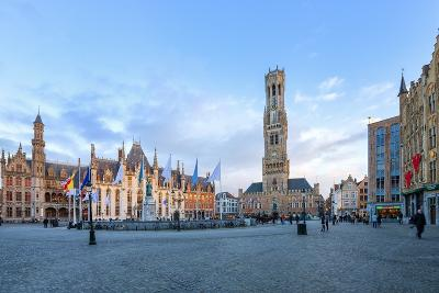 Market Square and the Belfry-G&M-Photographic Print