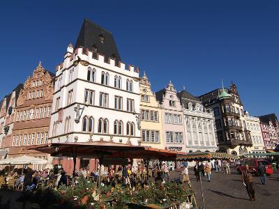 Market Square, Old Town, Trier, Rhineland-Palatinate, Germany, Europe-Hans Peter Merten-Photographic Print