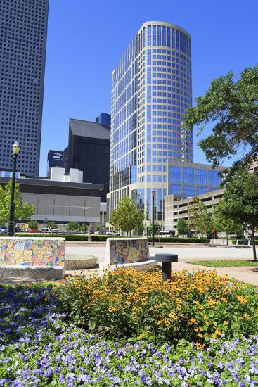 Market Square Park, Houston, Texas, United States of America, North America-Richard Cummins-Photographic Print
