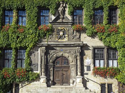 Market Square, Quedlinburg, UNESCO World Heritage Site, Harz, Saxony-Anhalt, Germany-Gavin Hellier-Photographic Print