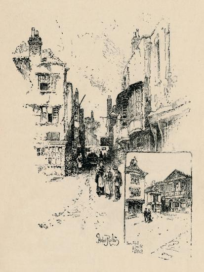 'Market Street, Windsor', 1895-Unknown-Giclee Print