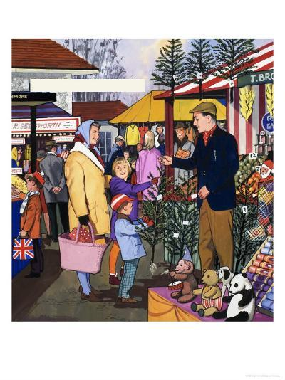 Market Trader--Giclee Print