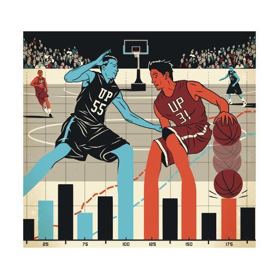 Markets-Bill Butcher-Giclee Print