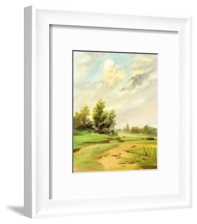 Markischer Sand-Bettina Hagen-Framed Art Print