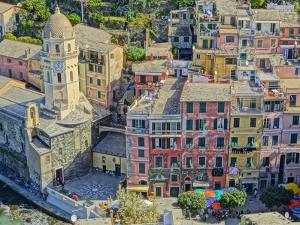 Astonishing Vernazza Cinque Terre Italy I by Markus Bleichner