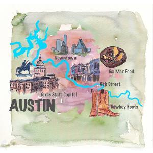 Austin Texas by Markus Bleichner