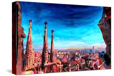 Barcelona City View and Sagrada Familia