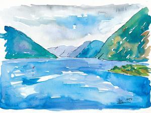 Geirangerfjord Norway by Markus Bleichner