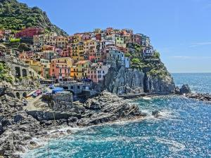 Magnific Manarola in Cinque Terre by Markus Bleichner