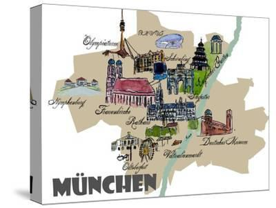 Munich Map Overview Best Of Highlights