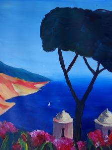 Ravello Salerno Italy View of Amalfi Coast from Vi by Markus Bleichner