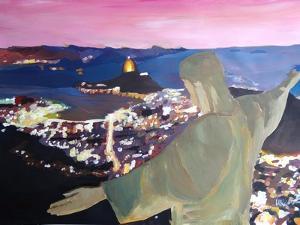 Rio De Janeiro With Christ The Redeemer II by Markus Bleichner
