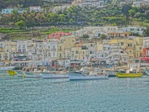 Romantic Capri Island Italy in Golfo di Naples by Markus Bleichner