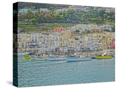 Romantic Capri Island Italy in Golfo di Naples
