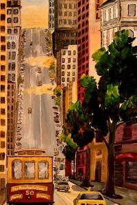 San Francisco Van Ness Cable Car by Markus Bleichner