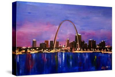 St Louis Gateway Arch at Sunset