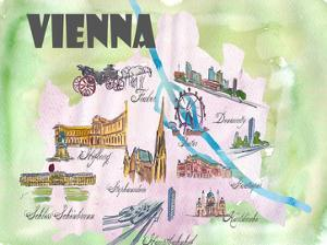 Vienna Austria by Markus Bleichner