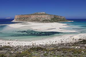 Balos Bay, Gramvousa Peninsula, Crete, Greek Islands, Greece, Europe by Markus Lange