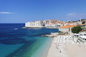 Banje Beach, Old Harbour and Old Town, UNESCO World Heritage Site by Markus Lange