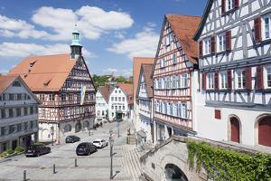 City Hall on the Marketplace, Backnang, Baden Wurttemberg, Germany by Markus Lange
