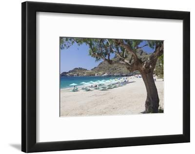 Damnoni Beach, Near Plakias, South Crete, Crete, Greek Islands, Greece, Europe