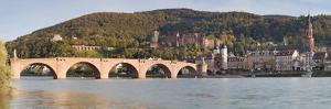 Karl Theodor Bridge, Stadttor, Castle and Heilig Geist Church by Markus Lange