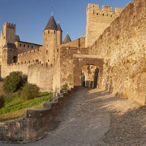 La Cite, Medieval Fortress City, Carcassonne, Languedoc-Roussillon, France by Markus Lange
