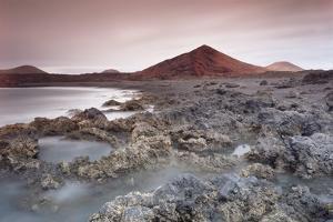 Lava Coast Near Los Hervideros, Montanas Del Fuego, Parque Natinal De Timanfaya by Markus Lange