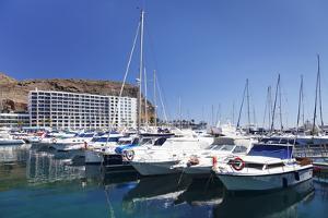Marina, Puerto Rico, Gran Canaria, Canary Islands, Spain, Atlantic, Europe by Markus Lange