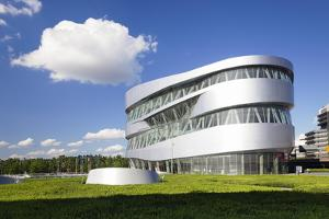 Mercedes Benz Museum, Stuttgart, Baden Wurttemberg, Germany, Europe by Markus Lange